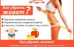 Как быстро убрать живот, советы и упражнения как сделать живот плоским в домашних условиях