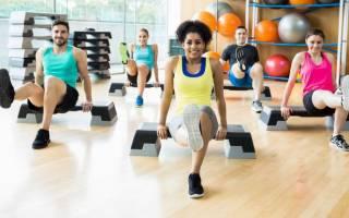 Эффективные упражнения на степ платформе