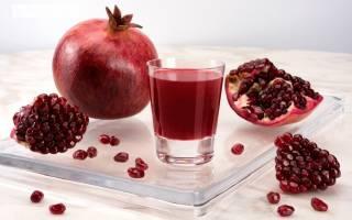 Польза гранатового сока и плодов граната для мужчин