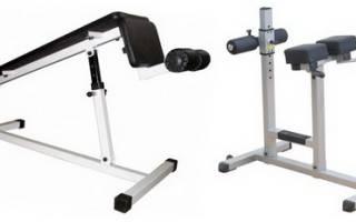 Какие мышцы работают при выполнении упражнения римский стул, техника выполнения