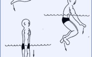 Как научиться нырять в воду, техника ныряния