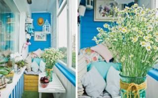 Балкон в стиле прованс – атмосфера уюта и отдыха