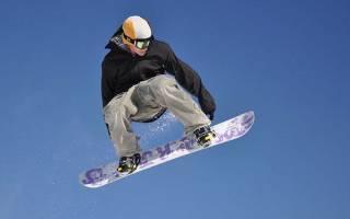 Как научиться кататься на сноуборде – техника катания, видео