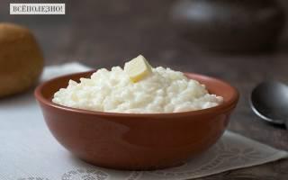 Сколько калорий в разных видах рисовой каши, польза и вред рисовой каши