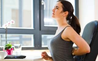 Йога может помочь при болях в пояснице