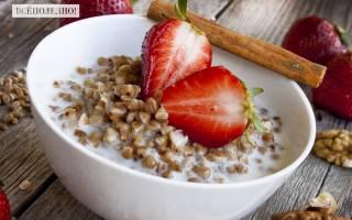 Гречка с молоком: калорийность, польза, пищевая ценность