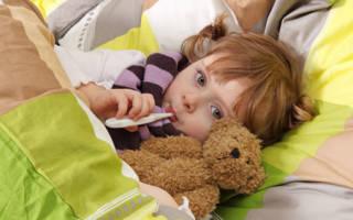 Как лечить простуду ребенку 1 год
