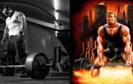 Становая тяга, фото и видео техники выполнения упражнения
