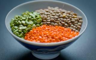 Калорийность чечевицы в сухом и вареном виде, диетические блюда из нее