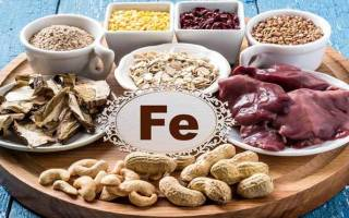 Продукты содержащие железо для беременных и кормящих женщин, железосодержащие продукты для детей до года