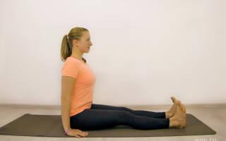 Терапевтические позы йоги: Пашчимоттанасана (Уграсана) + видео