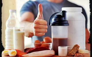 Лучшее спортивное питание для эктоморфа