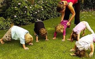 Упражнения и тренировки для развития вестибулярного аппарата у детей