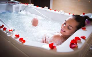 Польза жемчужных ванн, как принимать жемчужные лечебные ванны
