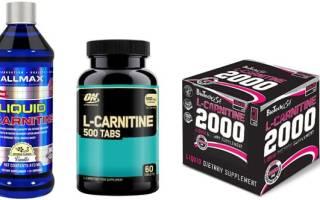 Виды L карнитина – жидкий, порошок, таблетки, как правильно выбрать L карнитин