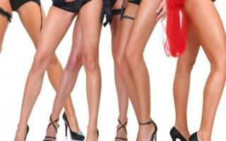 Как сделать худые ноги в домашних условиях
