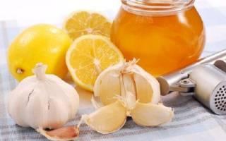 Лимон, чеснок и мед для чистки сосудов