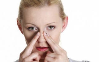 Как делать точечный массаж от заложенного носа, какие точки надо массировать при насморке, самомассаж точек при насморке