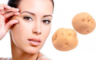 Картофельная маска для кожи вокруг глаз – рецепты, советы по применению