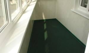 Пол на балконе из чего сделать – варианты для разных условий эксплуатации