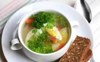 Суп картофельный, рисовый, овощной на курином бульоне: калорийность блюд на 100 грамм и химический состав