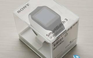 Сравнение умных часов Sony