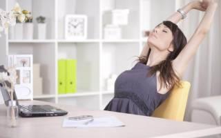Офисная гимнастика, упражнения гимнастики для офисных работников, как делать зарядку на стуле