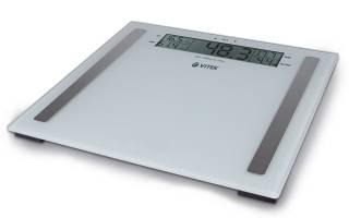 Обзор напольных весов Vitek