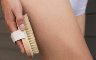 Массаж щеткой от целлюлита, как делать самомассаж щеткой в домашних условиях видео