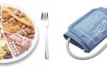 Продукты понижающие давление: список и рекомендации