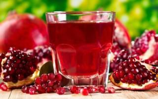 Гранатовый сок: как его правильно пить