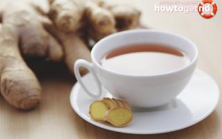 Как заваривать имбирь от простуды, рецепты от простуды с имбирем