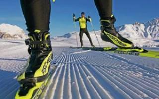 Как правильно установить крепления на беговые лыжи видео