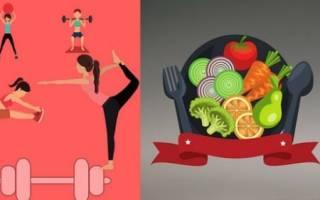 Диета художественных гимнасток, как питаться при занятиях гимнастикой