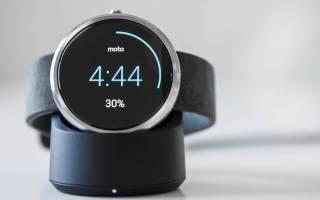 Рейтинг умных часов Motorola