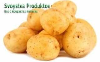 Калорийность жаренной картошки, ее пищевая ценность, польза и вред