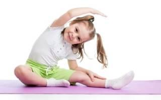 Упражнения на развитие гибкости у детей