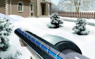 Подогрев водопровода – монтируем греющий кабель