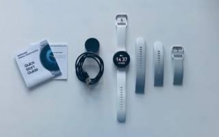 Обзор умных часов Samsung