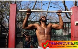 Турник для начинающих – упражнения, программа тренировок, видео