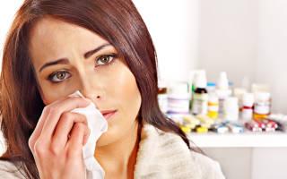 Как вылечить простуду в носу и под носом