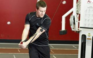 Упражнение дровосек: какие мышцы задействованы, как правильно делать