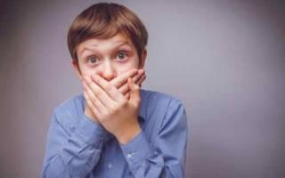 Запах ацетона изо рта у ребенка – причины, первая помощь