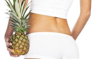 Ананасовая диета на водке: приготовление, меню, отзывы