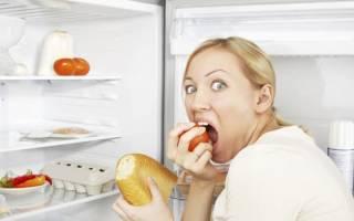 Как притупить чувство голода вечером во время похудения
