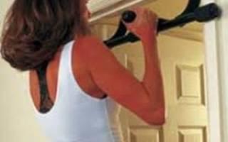 Упражнения на турнике для женщин, женские упражнения на турнике на все группы мышц