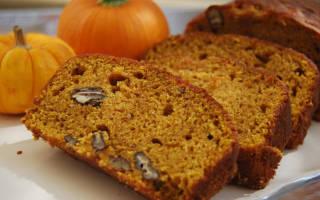 Тыквенный хлеб: польза, состав, калорийность, рецепт приготовления