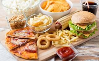 Самые вредные продукты питания для фигуры – список