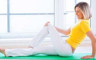 Лечебная физкультура для коленного сустава, ЛФК для коленей – комплекс упражнений