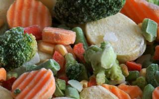 Замороженные овощи и фрукты: польза или вред, есть ли польза в замороженных овощах